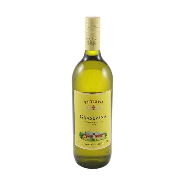 Vino kvalitetno Graševina 1L, Kutjevo