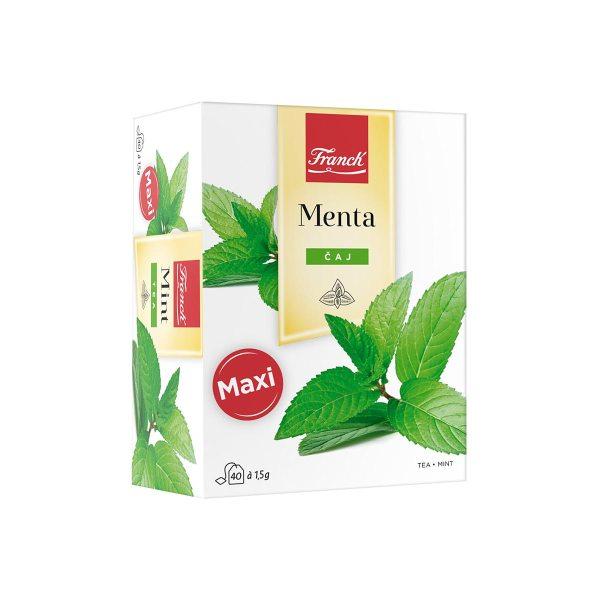 Čaj menta maxi 60g, Franck