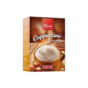 Cappuccino nougat cream 148g, Franck