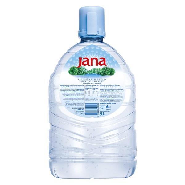 Jana prirodna mineralna negazirana voda 5L