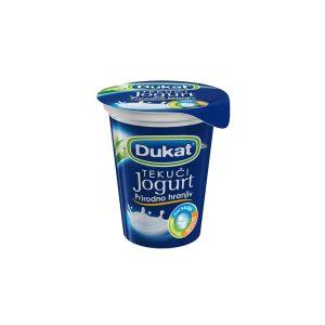 Jogurt tekući s 2,8% m.m. 180g Dukat