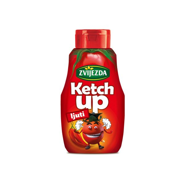 Ketchup ljuti 500g, Zvijezda
