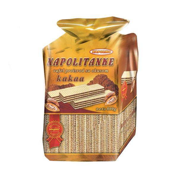 Napolino Napolitanke kakao 800 g