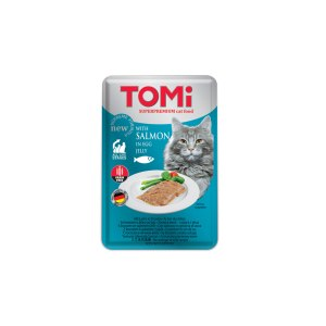 Tomi Vrećica za mačke Grain Free, losos/jaje 100g
