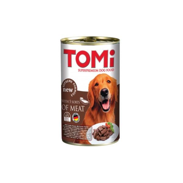 Tomi hrana za pse 5 vrsta mesa 400g