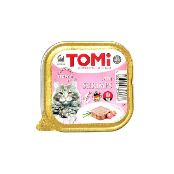 Tomi pašteta za mačke račići 100g