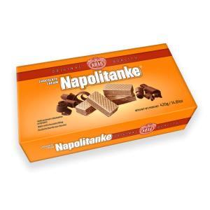 Napolitanke Chocolate Cream 420g, Kraš