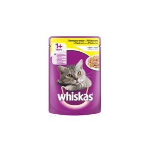 Whiskas hrana za mačke piletina i jetra 100g