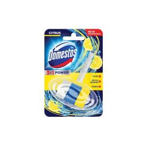 Domestos citrus 3u1 osvježivač za WC školjku 40g