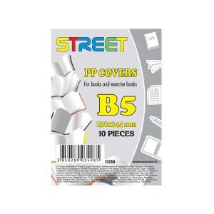 Omotnice za bilježnice B5 Street 10kom