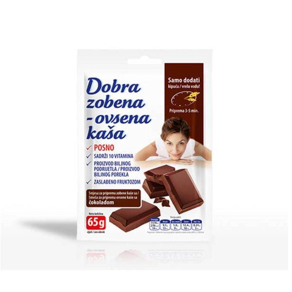 Dobra Zobena kaša čokolada 65g