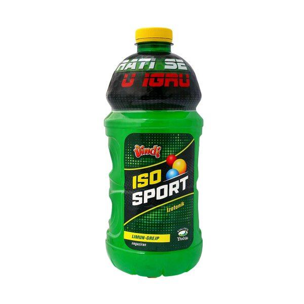 Iso sport izotonik limun, grejp negaziran 1,75L, Vindija