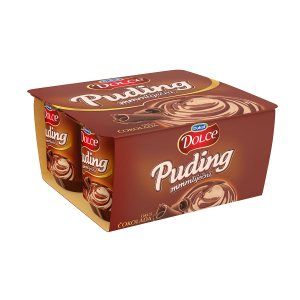 Puding Dolce čokolada 4x125g, Dukat