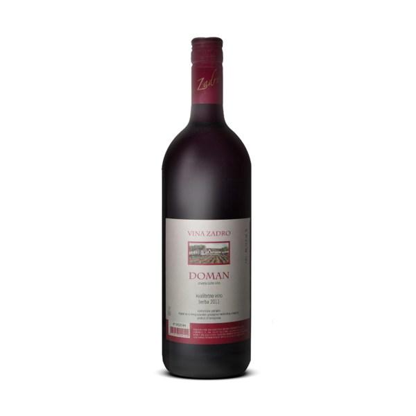 Vino kvalitetno Doman 1L, Zadro
