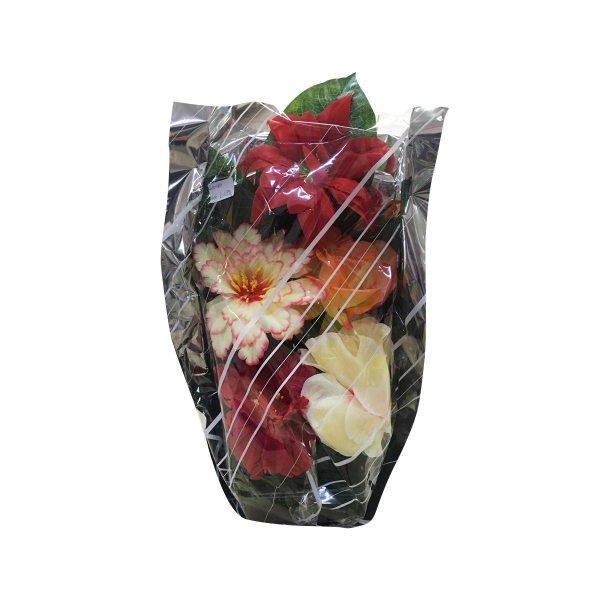 Aranžman/košarica umjetnog cvijeća Sara