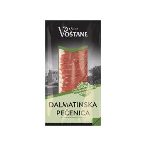 Dalmatinska pečenica rezana 100g, Pršut Voštane