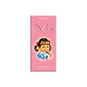 Mliječna čokolada Seka 75g, Zvečevo