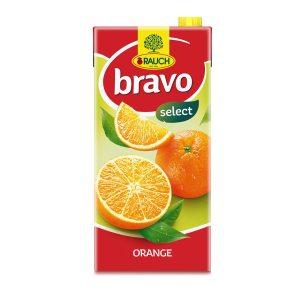 Sok Bravo naranča nektar 2L, Rauch