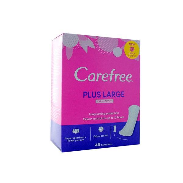 Carefree plus large dnevni ulošci 48/1
