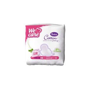Cotton sensitive hig. ulošci normal 10/1, Violeta