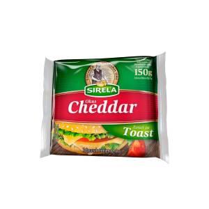 Sirela Toast listići okus Cheddar 150g, Dukat