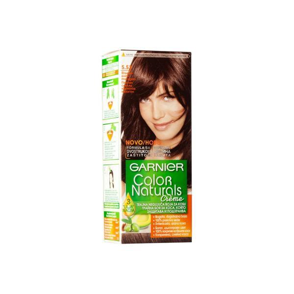 Boja za kosu Garnier Color Naturals N 5,52, biserno svijetli mahagoni