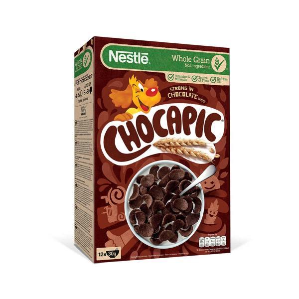 Chocapic čokoladne žitne školjkice 375g, Nestlé