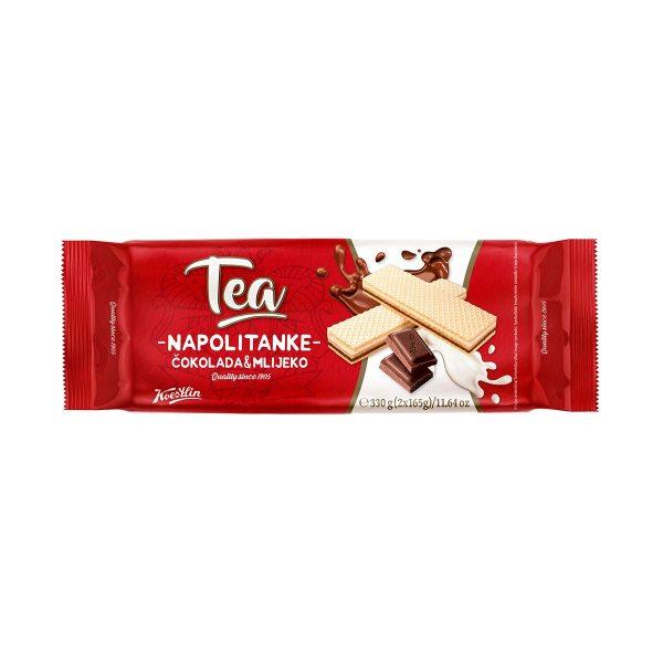 Tea napolitanke čokolada i mlijeko 330g, Koestlin