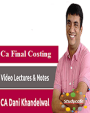 CA Final Costing & OR Pendrive/Video Lecture LMR by CA Dani Khandelwal