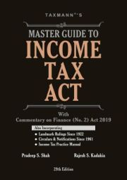 Buy Master Guide To Income Tax Act