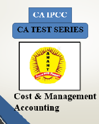 CA IPCC Group I Cost and Management Accounting Test Series By Anant Institute