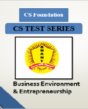 CS Foundation Business Environment & Entrepreneurship Test Series By Anant Institute