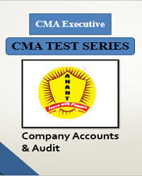 CMA Executive Group 2 Company Accounts & Audit Test Series By Anant Institute