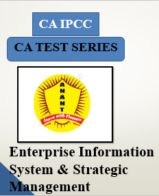 CA IPCC Group II Enterprise Information System & Strategic Management Test Series By Anant Institute