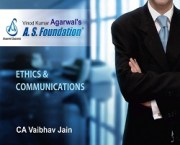 CA IPCC LAW - ONLY ETHICS & COMMUNICATION BOOK By CA Vaibhav Jain