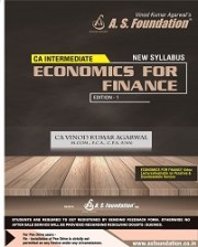 CA INTER ECONOMICS FOR FINANCE BOOK By CA Vinod Kumar Agarwal