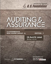 CA INTER AUDITING & ASSURANCE NEW SYLLABUS BOOK By CA Aarti Lahoti