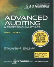 FINAL ADVANCED AUDITING & PROFESSIONAL ETHICS LATEST 22ND EDITION OLD SYLLABUS (COLOR BOOK)