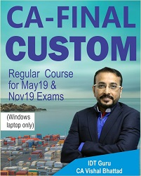 CA Final Custom FTP Regular Full Course Video Lectures By CA Vishal Bhattad