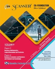 CA Foundation Solved Scanner Volume-II Paper-3,4 Regular Edition