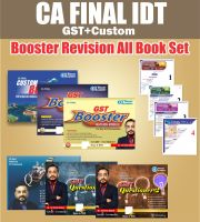CA Final IDT Booster Revision Course Complete Book set By CA Vishal Bhattad