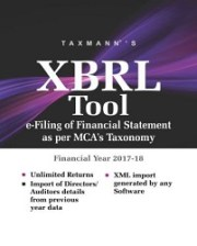 Buy or Renew Taxmann's XBRL Tool (Single user) 2018