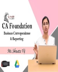 CA Foundation Paper 2B, Business Correspondence & Reporting