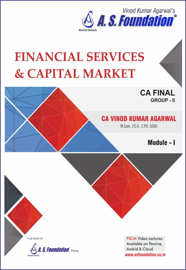 CA final Elective paper Financial Services And Capital Markets Book By CA Vinod Kumar Agarwal