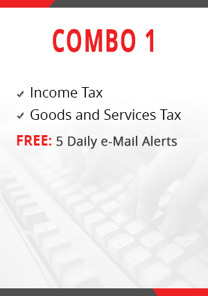 Combo 1 - Income Tax and Goods & Services Tax Module