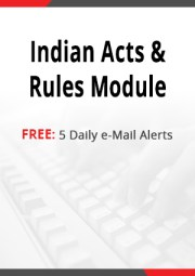 Indian Acts & Rules Module