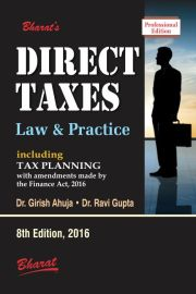 DIRECT TAXES Law & Practice (Professional Edition)