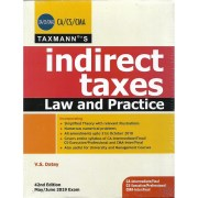CA-FINAL INDIRECT TAXES LAW AND PRACTICE BY V S DATEY