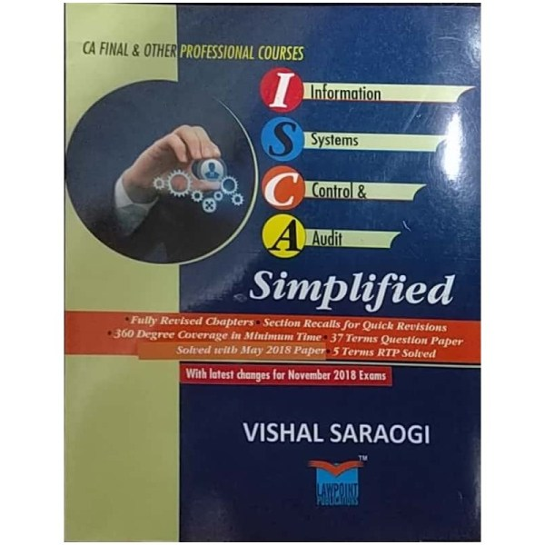 LAWPOINT PUBLICATIONS ISCA SIMPLIFIED BY VISHAL SARAOGI FOR CA FINAL