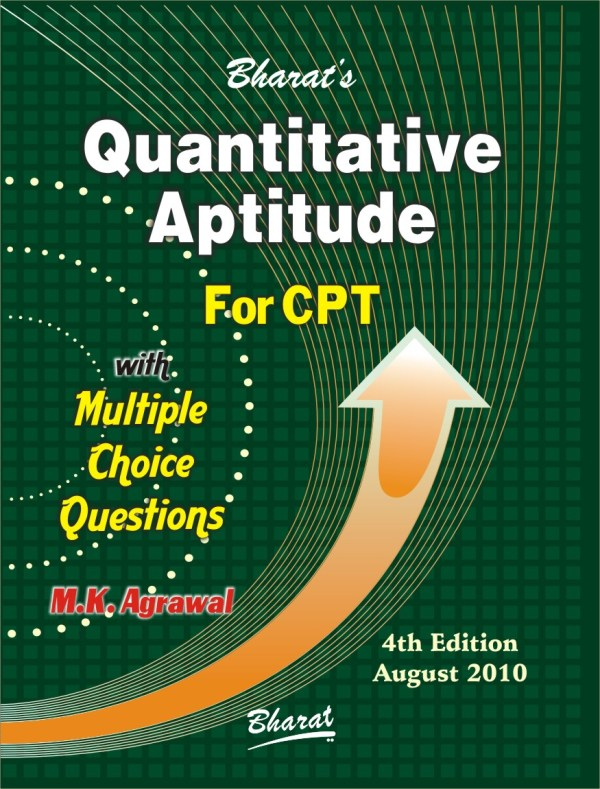 CA CPT QUANTITATIVE APTITUDE with Multiple Choice Questions